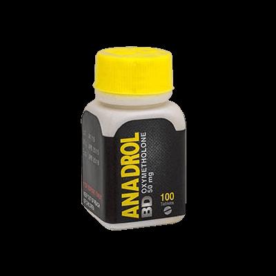 Anadrol BD [Oxymetholone 50mg] - 100 Tabs - Black Dragon