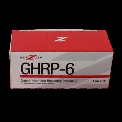 GHRP-6 [Growth Hormone Releasing Peptide-6 5mg] - 10 vials - Gainzlab