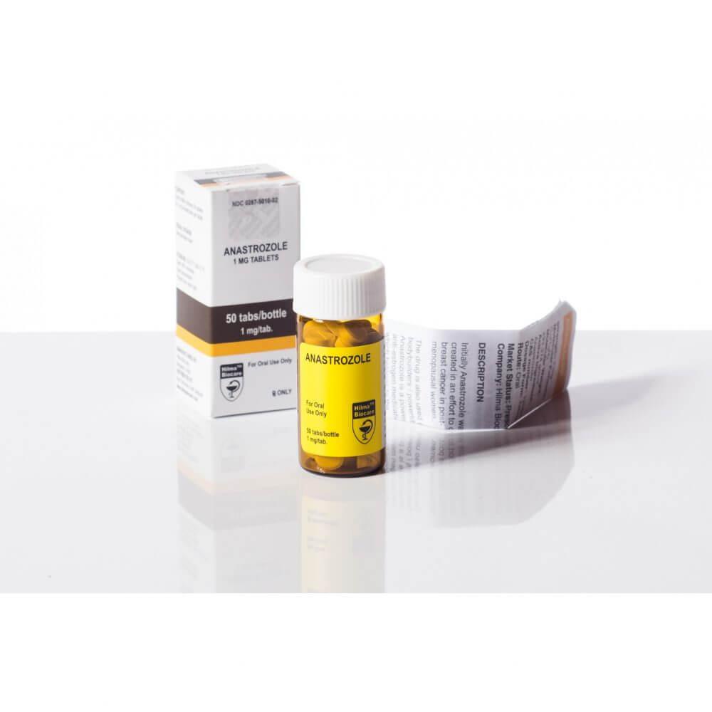 Anastrozole [Arimidex] Hilma Biocare 50 tablets [1mg/tab]