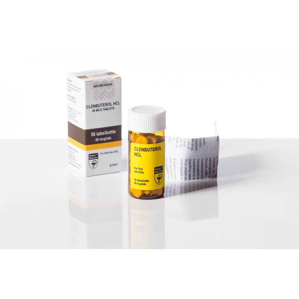 Clenbuterol  Hilma Biocare 50 tablets [40mcg/tab]