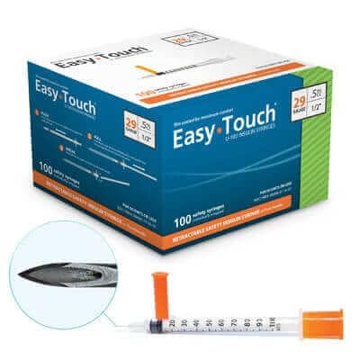 100 Syringes 1ml With Needles For Subcutaneous Injection