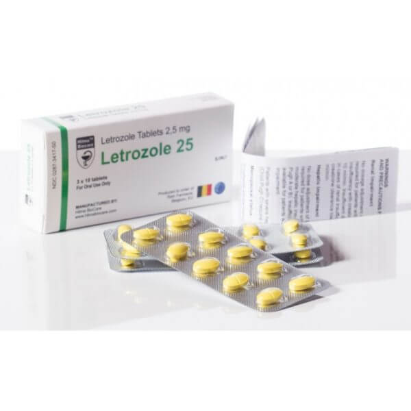 Letrozole Hilma Biocare Box Of 30 Tabs Of 2.5 Mg