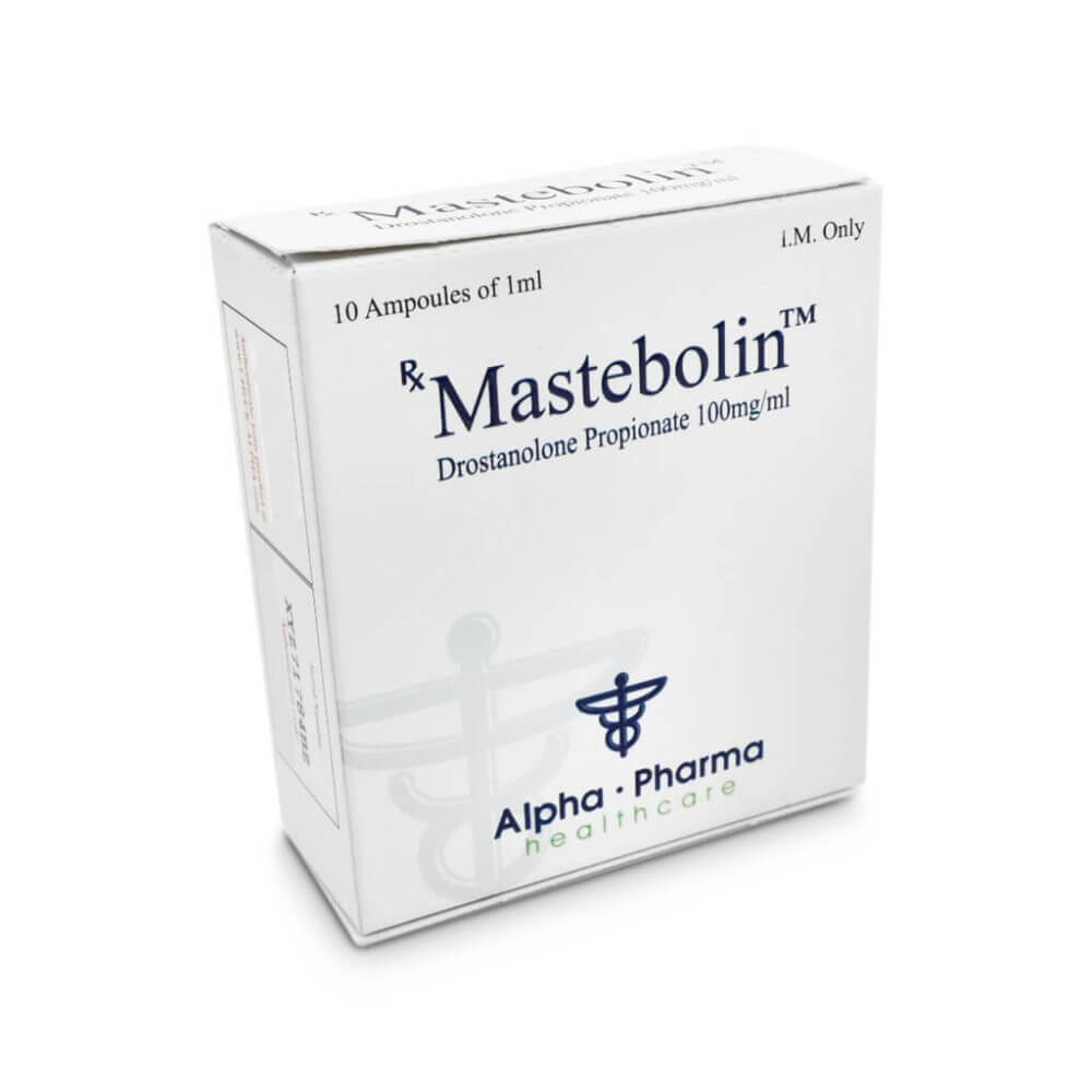 Mastebolin Masteron 100mg / Ml 10 X 1ml Amp - Alpha-Pharma