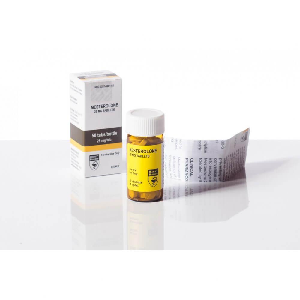 Mesterolone (Proviron) Hilma Biocare - 25mg - Box Of 50tabs