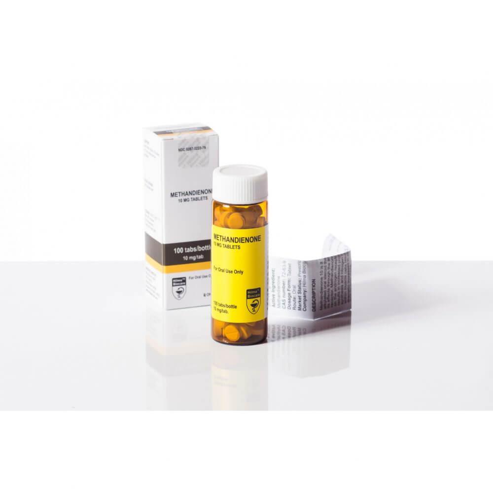 Methandienone (Dianabol) Hilma Biocare 100 tablets [10mg/tablet]