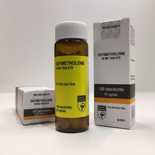 Anadrol (Oxymetholone) Hilma Biocare 100 tablets [50mg/tab]