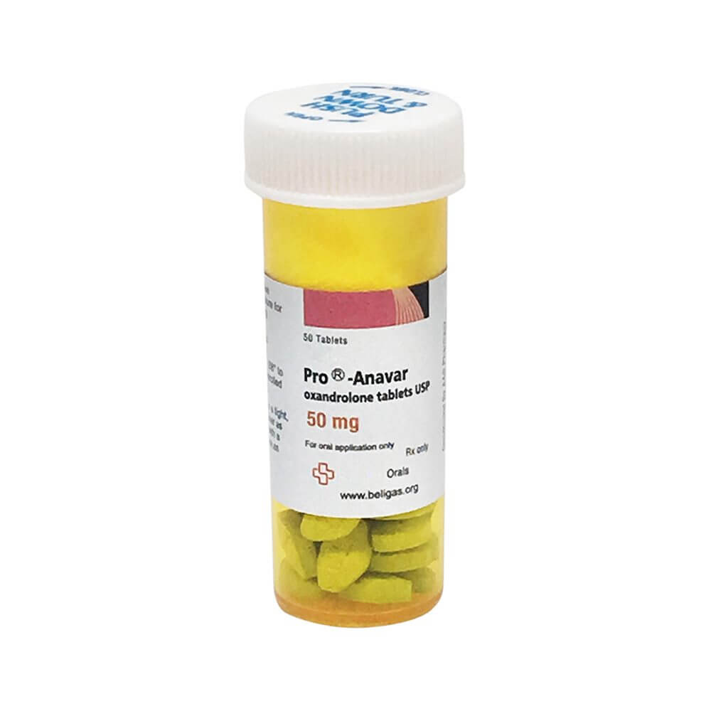 Anavar (Oxandrolone) Pro 50tabs [50mg/tab] - Beligas Pharmaceuticals