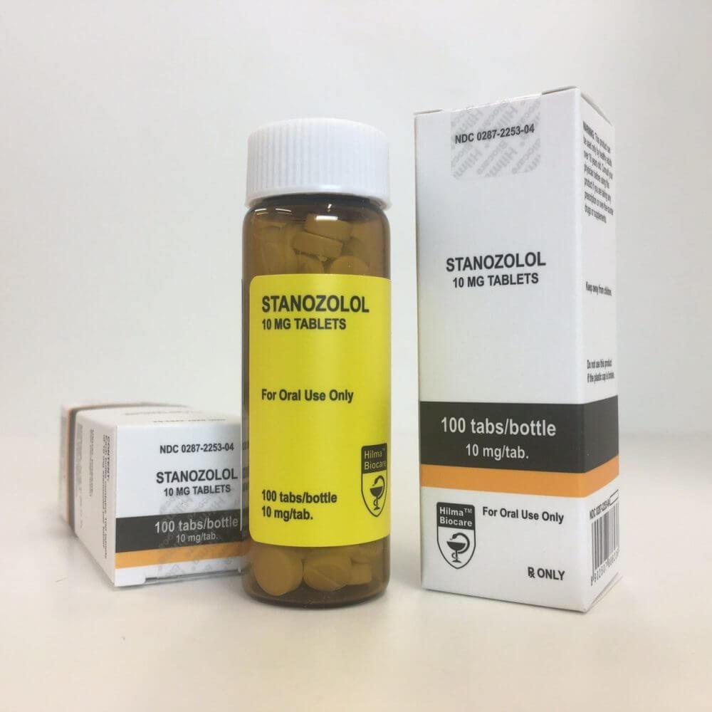 Winstrol Stanozolol pills Hilma Biocare 100 tablets [10mg/tab]