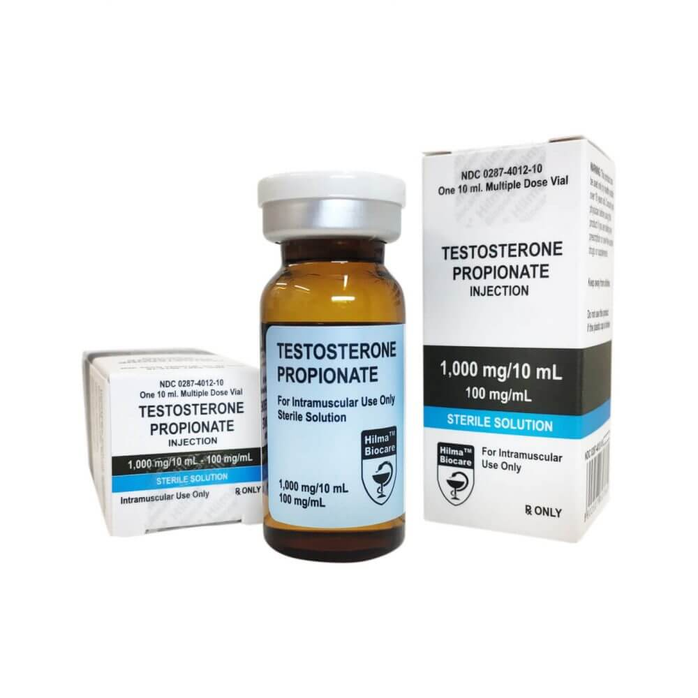 Testosterone Propionate  Hilma Biocare 10ml vial [100mg/ml]