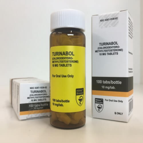 Turinabol Hilma Biocare 100 tablets [10mg/tab]