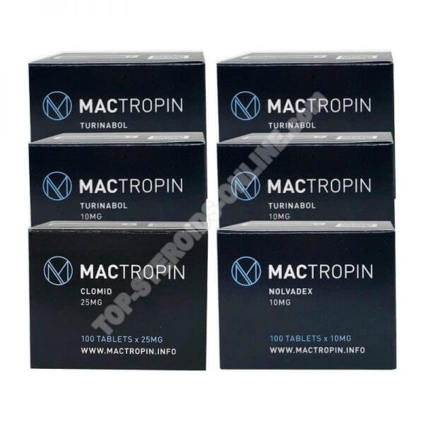 LEAN MUSCLE LEVEL III PACK (ORAL) – TURINABOL + PROTECTION + PCT (8 WEEKS) Mactropin