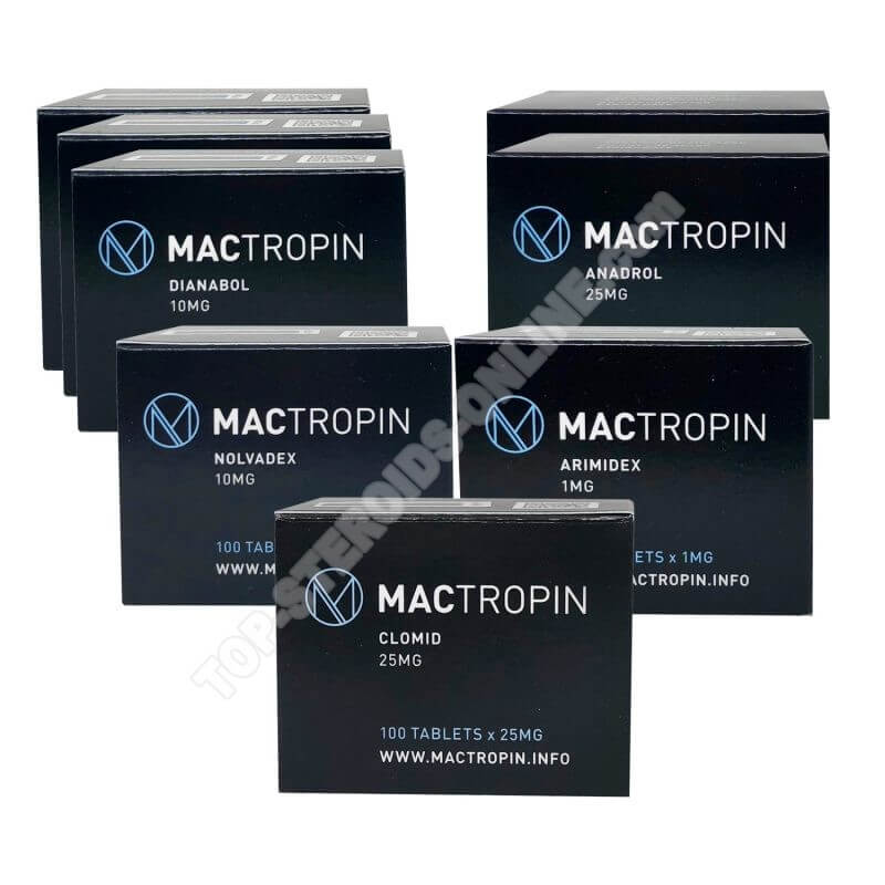 MACTROPIN Ultimate Mass Pack - Dianabol + Anadrol - Oral Steroids (8 Weeks)