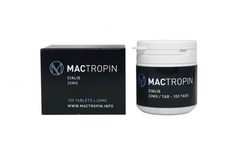 Cialis 20mg 100tabs - Mactropin
