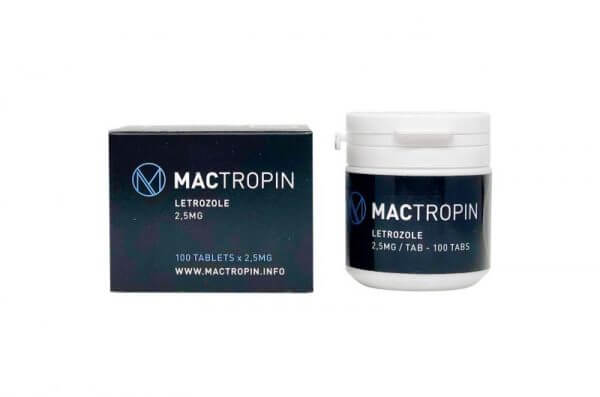 Letrozole 2,5mg 100tabs – Mactropin