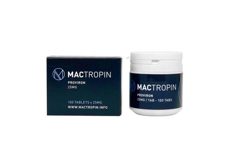 Proviron 25mg 100 Tabs - Mactropin