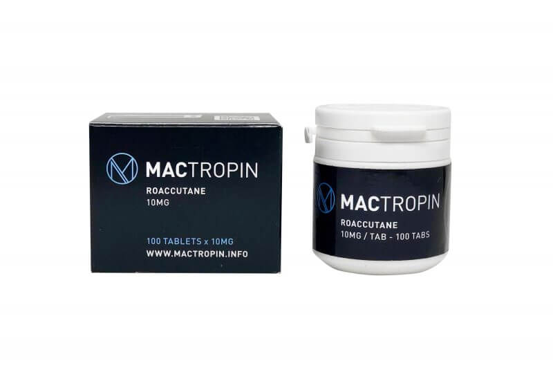 Roaccutane 10mg 100tabs - Mactropin