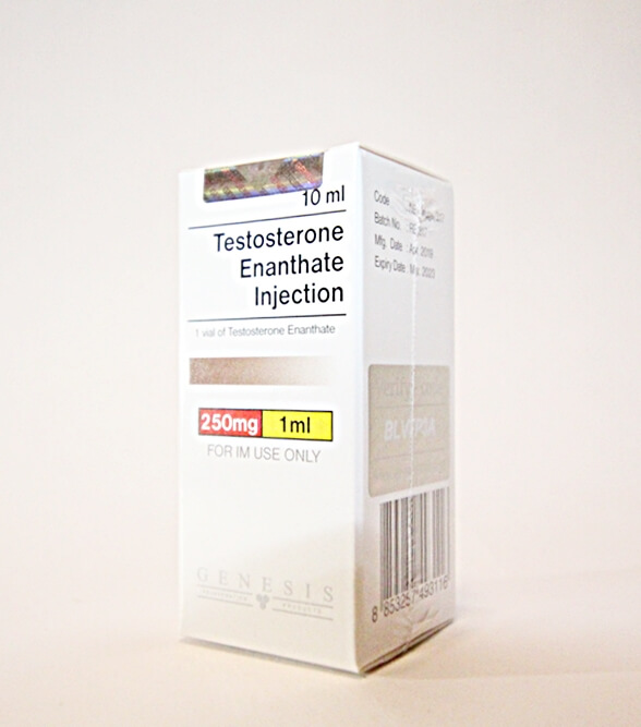 Testosterone Enanthate Injection Genesis 10ml vial [250mg/1ml]
