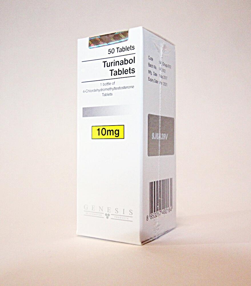 Turinabol Tablets Genesis 50 tabs [10mg/tab]
