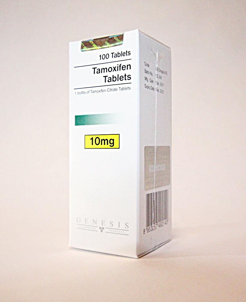 Tamoxifen Citrate Tablets Genesis 100 tabs [10mg/tab]
