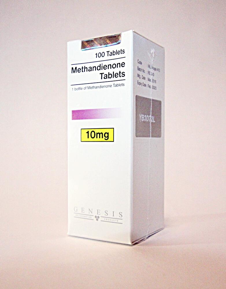 Methandienone Tablets Genesis 100 tabs [10mg/tab]