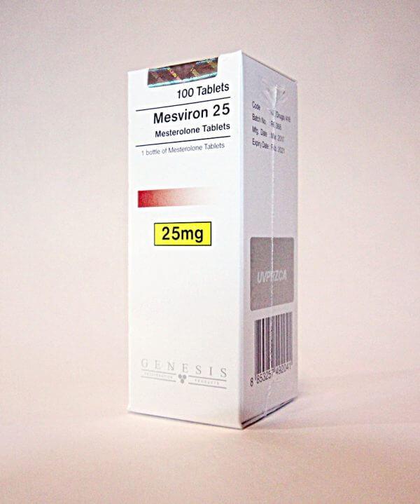 Mesviron 25 Genesis 100 tabs [25mg/tab]