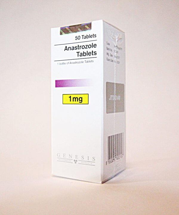 Anastrozole Tablets Genesis 50 tabs [1mg/tab]