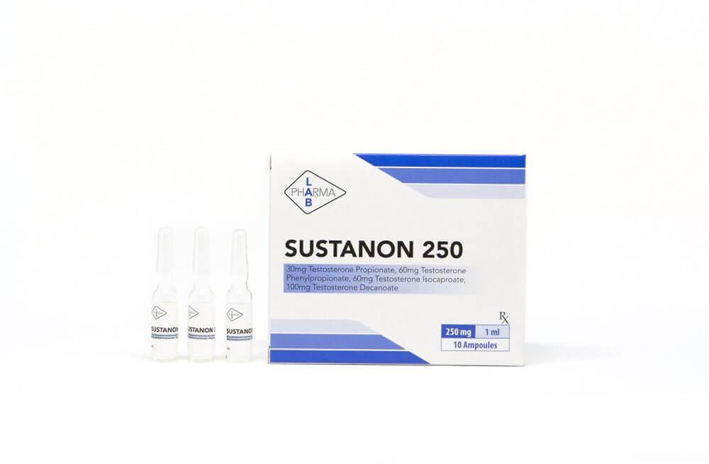 Sustanon 250 Pharma Lab 10 amps [10x250mg/1ml]