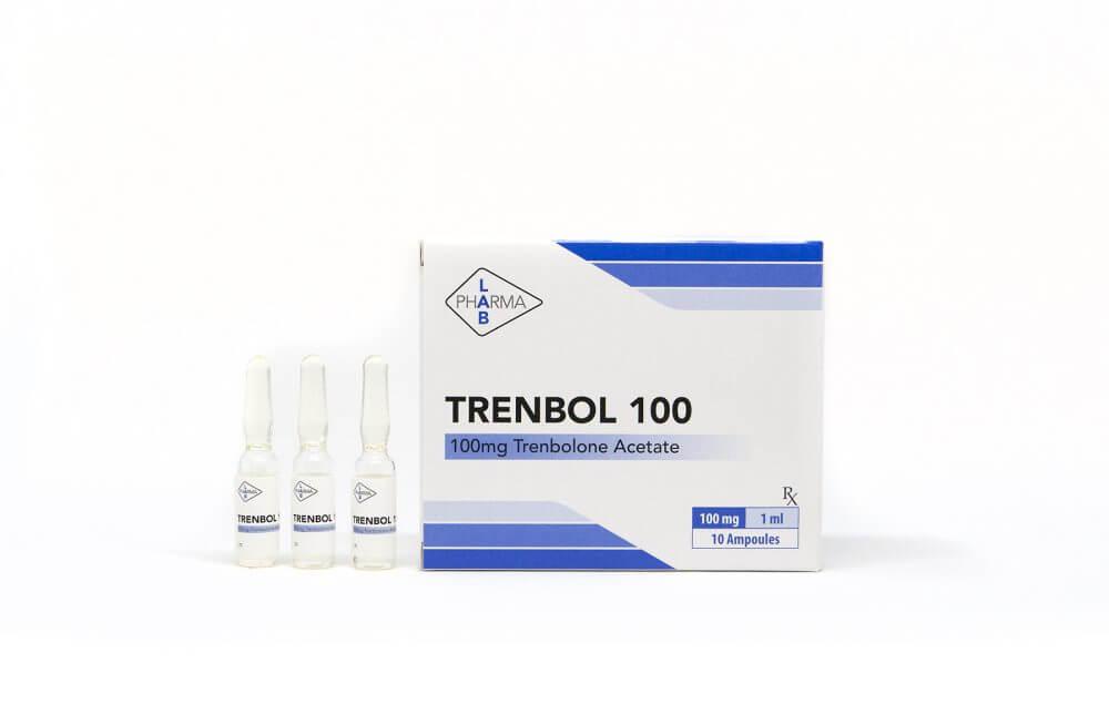 Trenbol 100 Pharma Lab 10 amps [10x100mg/1ml]