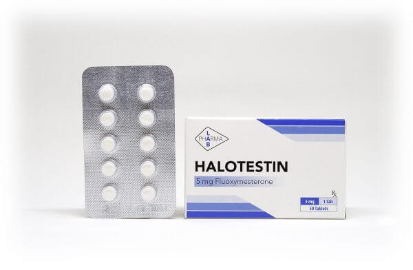 Halotestin Pharma Lab 50 tabs [5mg/tab]
