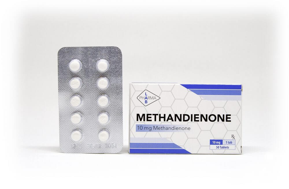 Methandienone Pharma Lab 50 tabs [10mg/tab]
