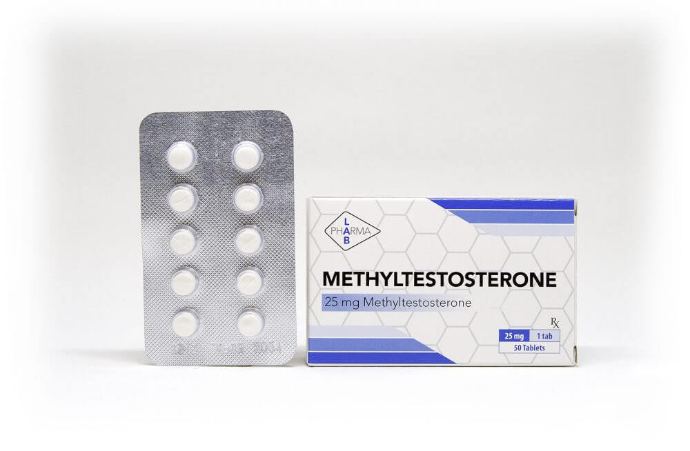 Methyltestosterone Pharma Lab 50 tabs [25mg/tab]