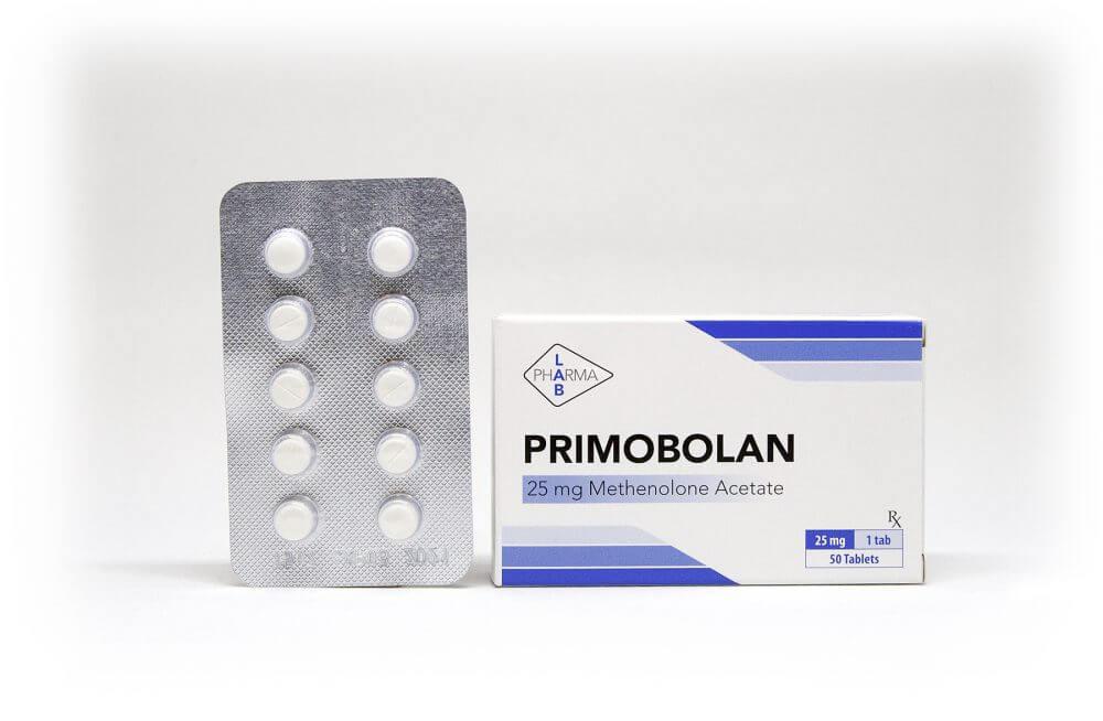 Primobolan Pharma Lab 50 tabs [25mg/tab]