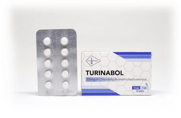 Turinabol Pharma Lab 50 tabs [10mg/tab]