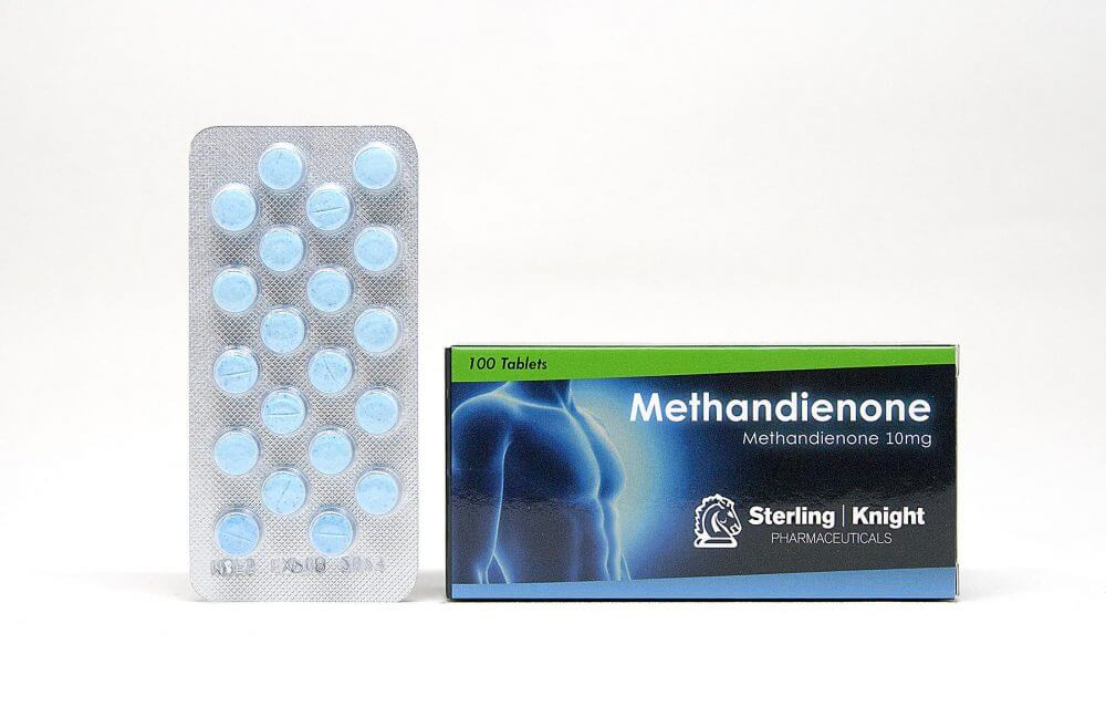 Methandienone Sterling Knight 100 tabs [10mg/tab]