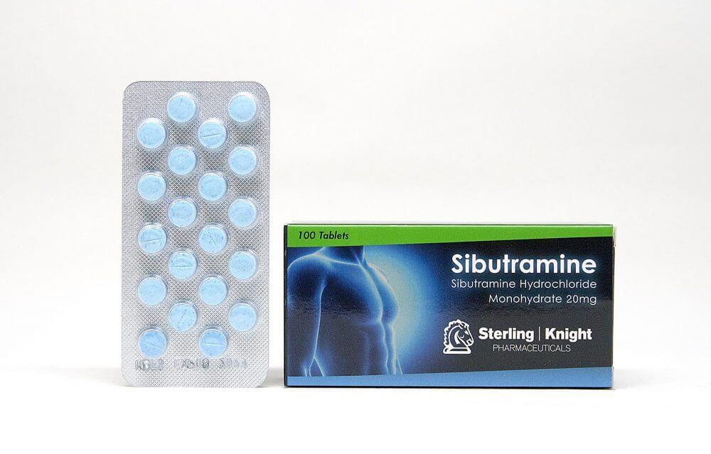 Sibutramine Sterling Knight 100 tabs [20mg/tab]