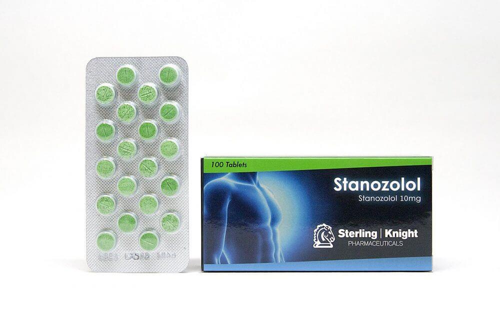 Stanozolol Sterling Knight 100 tabs [10mg/tab]