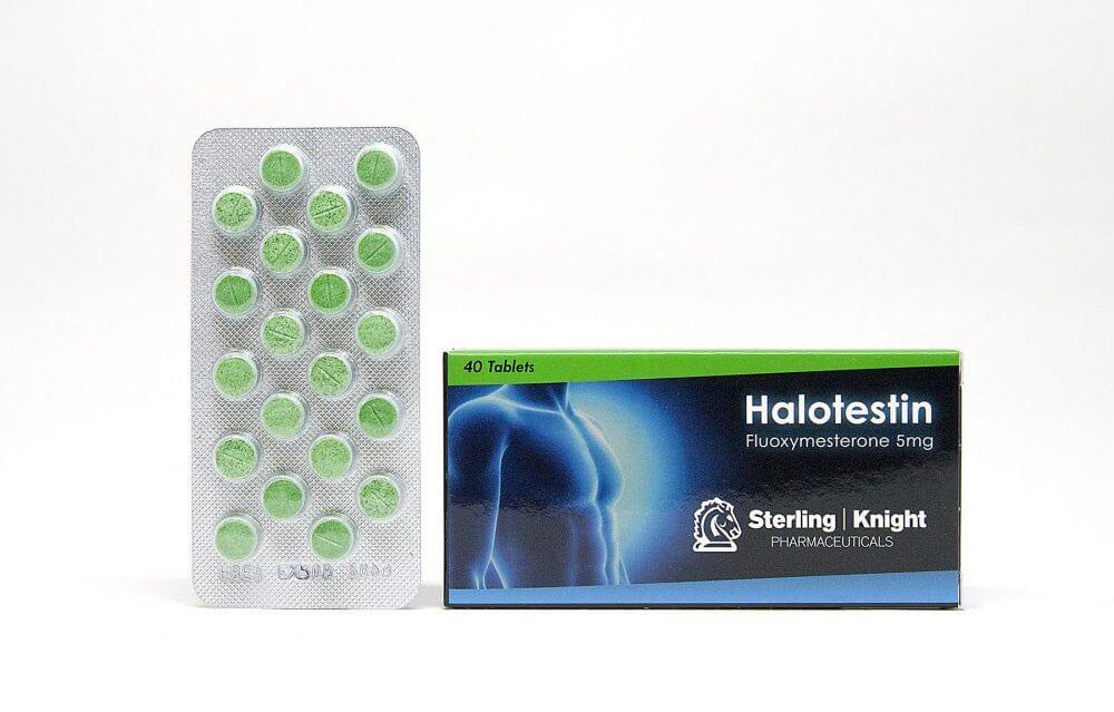 Halotestin Sterling Knight 40 tabs [5mg/tab]