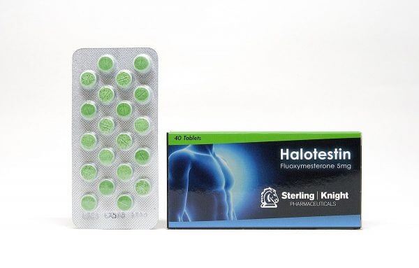 Halotestin Sterling Knight 40 tabs [5mg/tab]
