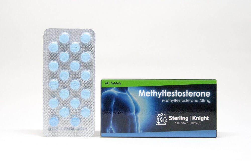 Methyltestosterone Sterling Knight 60 tabs [25mg/tab]