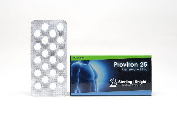 Proviron 25 Sterling Knight 60 tabs [25mg/tab]