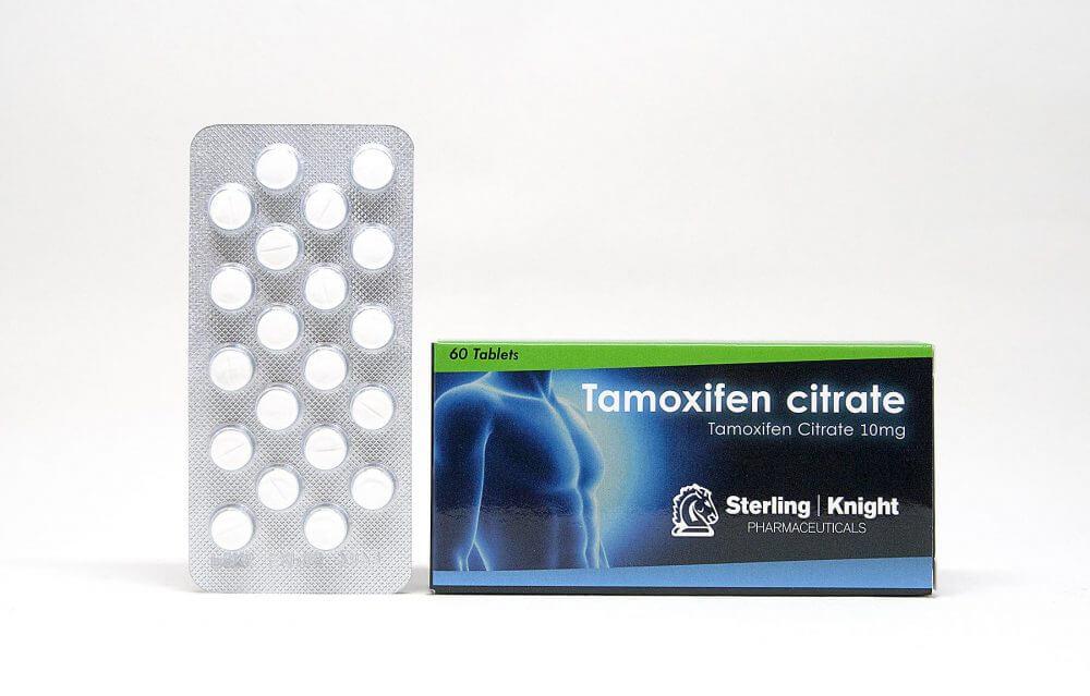 Tamoxifen citrate Sterling Knight 60 tabs [10mg/tab]