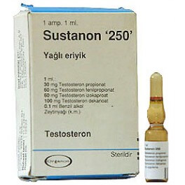 Sustanon 250 Turkey Organon 1ml amp [250mg/1ml]