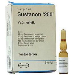 Sustanon 250 Turkey Organon 1ml amp [250mg/1ml]