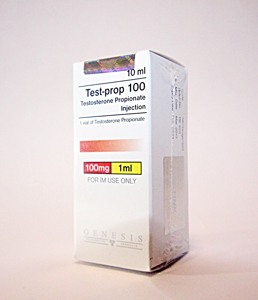 Test-prop 100 Genesis 10ml vial [100mg/1ml]