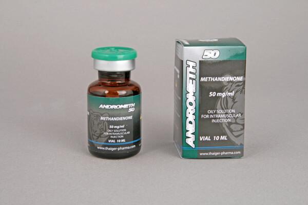 Andrometh 50 Thaiger Pharma 10ml vial [50mg/1ml]