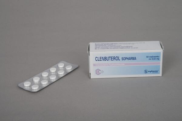 Clenbuterol Sopharma 100 tabs [0,02mg/tab]