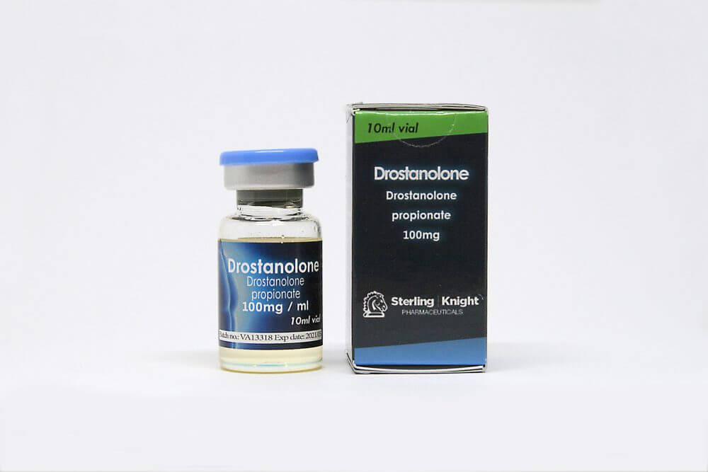 Drostanolone Sterling Knight 10ml vial [100mg/1ml]