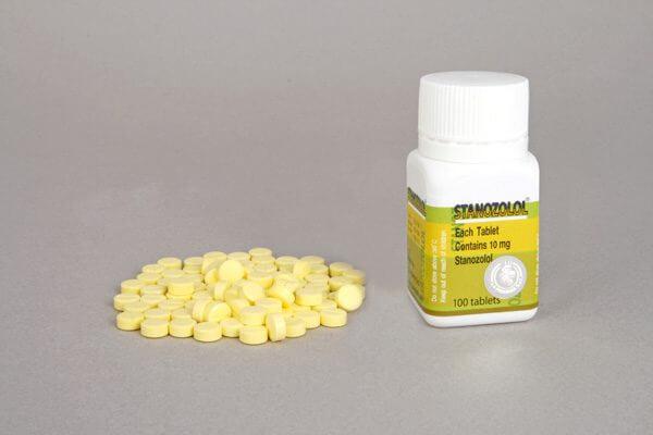 Stanozolol LA Pharma 100 tabs [10mg/tab]