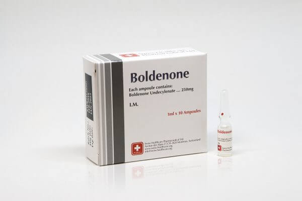 Boldenone Swiss Healthcare 10 amps [10x250mg/1ml]