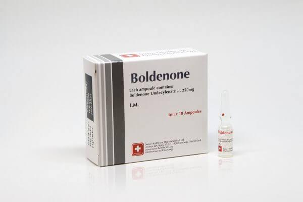 Boldenone Swiss Healthcare 10 amps [10x250mg/1ml]